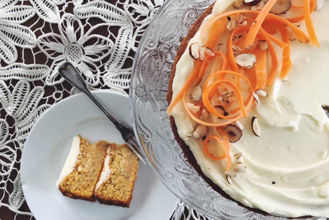 Carrot Cake - meine Rüeblitorte mit Frischkäse-Icing