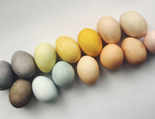 Ostereier färben, ganz natürlich und einfach