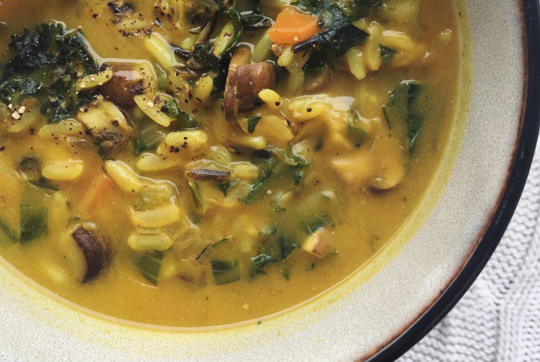 Wärmender Reis-Eintopf, Rezept von boumbelle