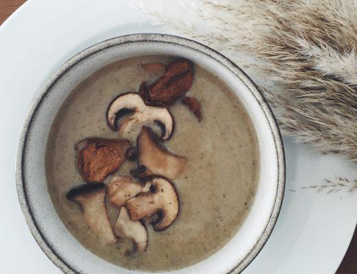 Himmlische Pilz-Suppe