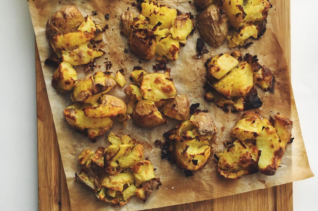 Smashed Potatoes: knusprige Kartoffeln aus dem Ofen