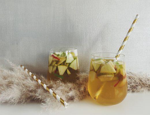 Apfel Sangria mit Cider - herbstlich lecker und erfrischend