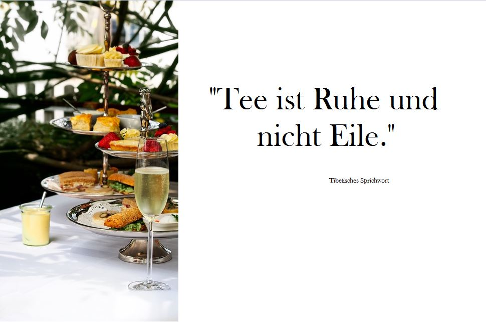 Afternoon Tea in Bülach