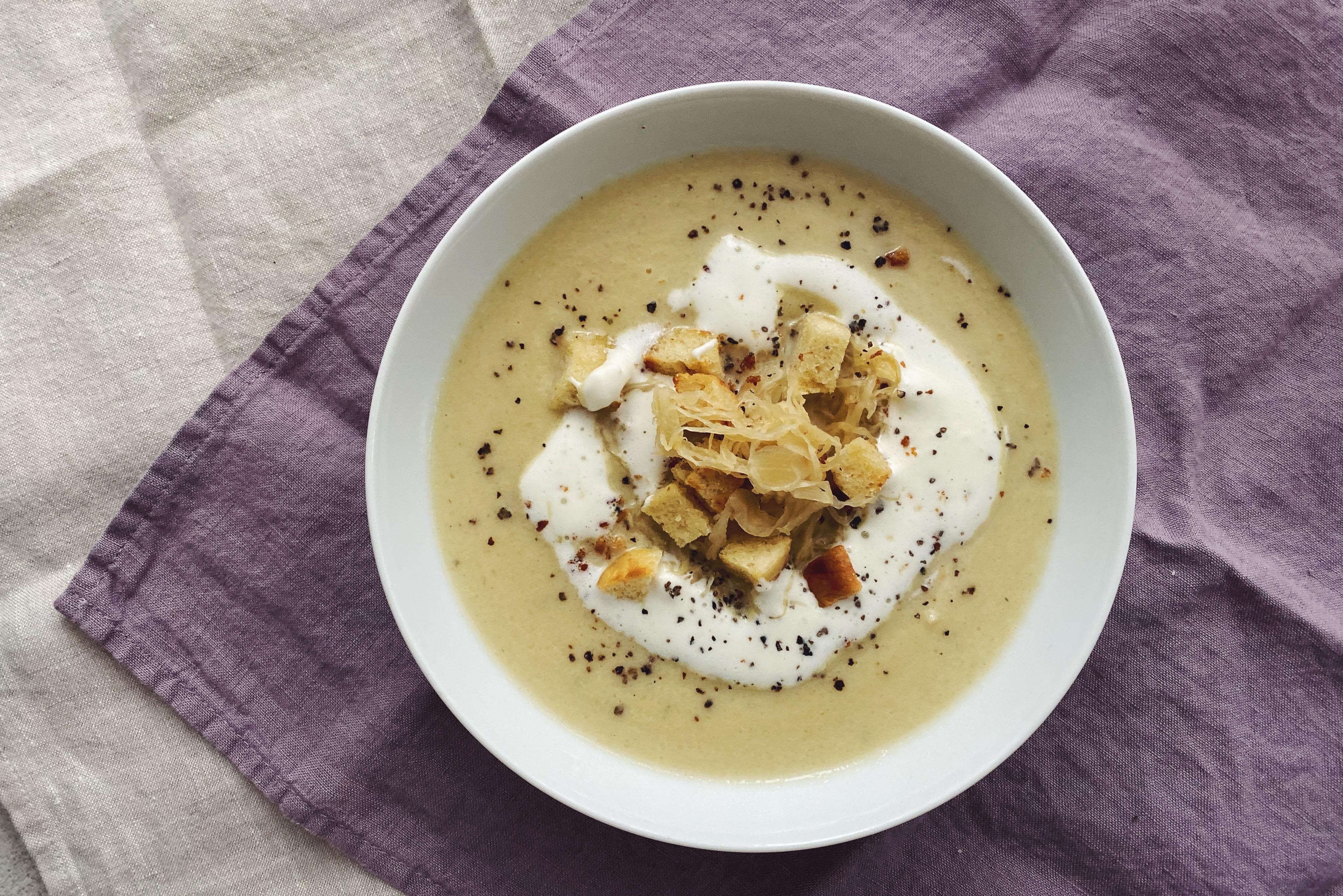 Sauerkrautsuppe - herzhaft lecker und Mal etwas anderes!
