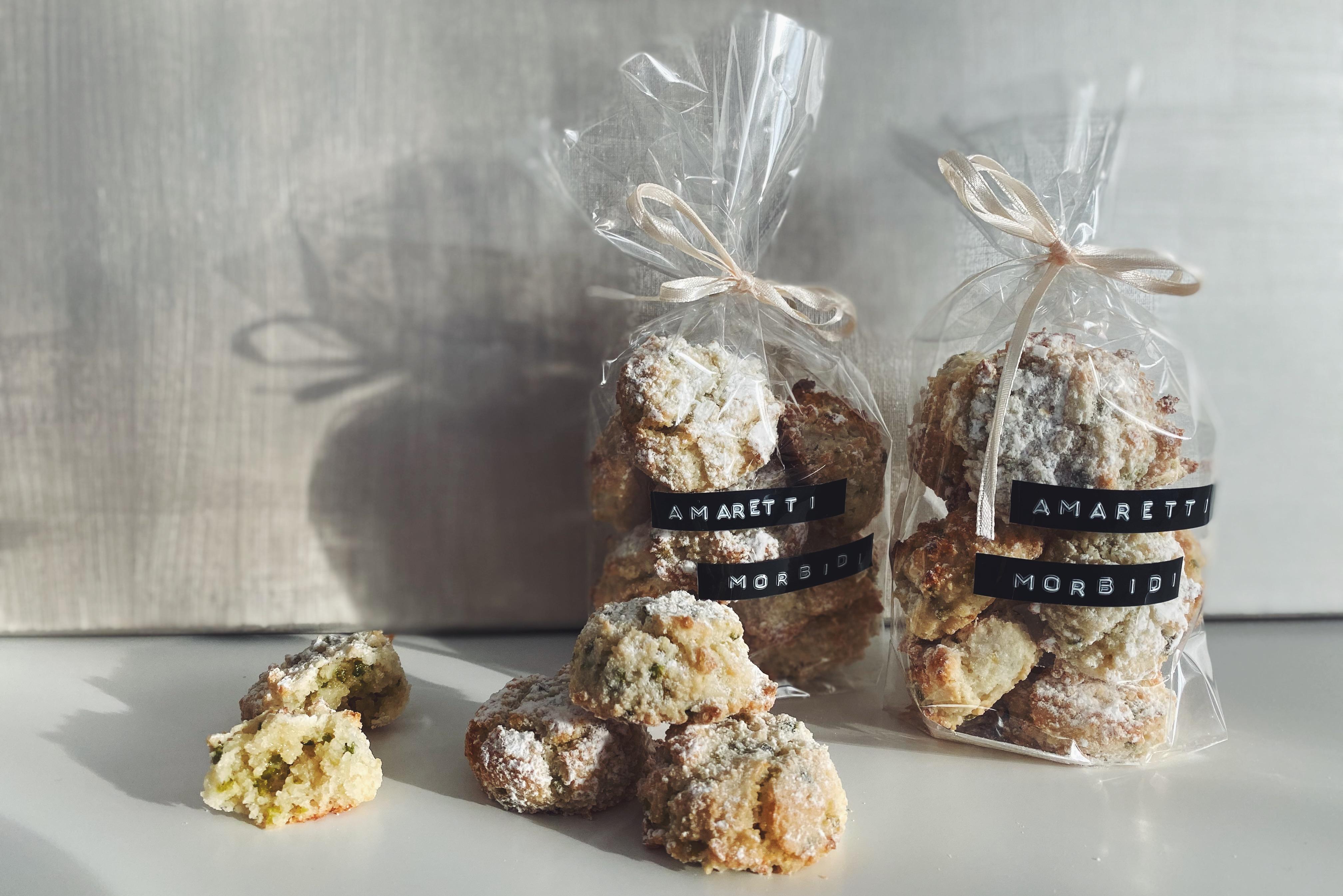 Amaretti morbidi: Das kleine italienische Mandel-Gebäck