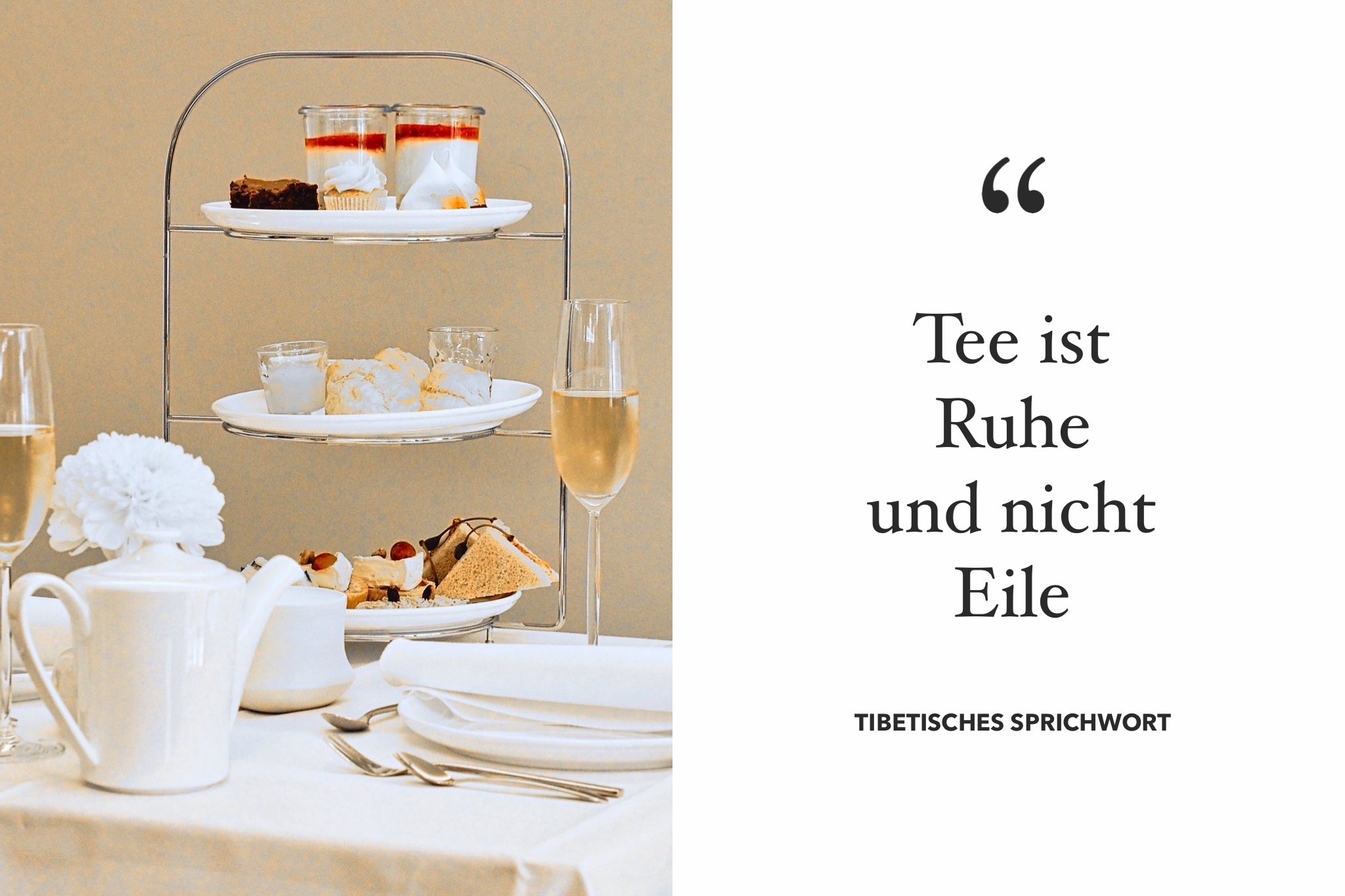 Afternoon Tea in Bülach