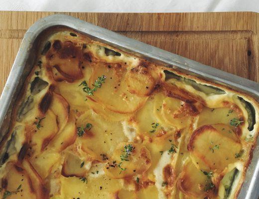 Kartoffelgratin: Herzhaft, sämig und würzig