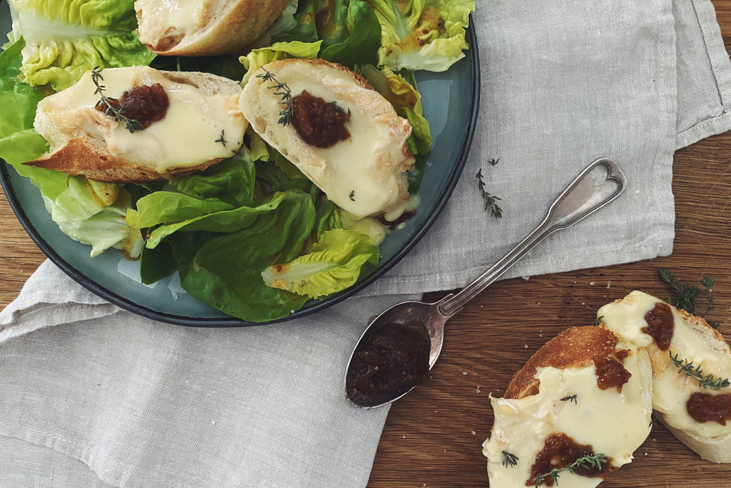 Vive le Frühling - oder Salade de fromage chaud