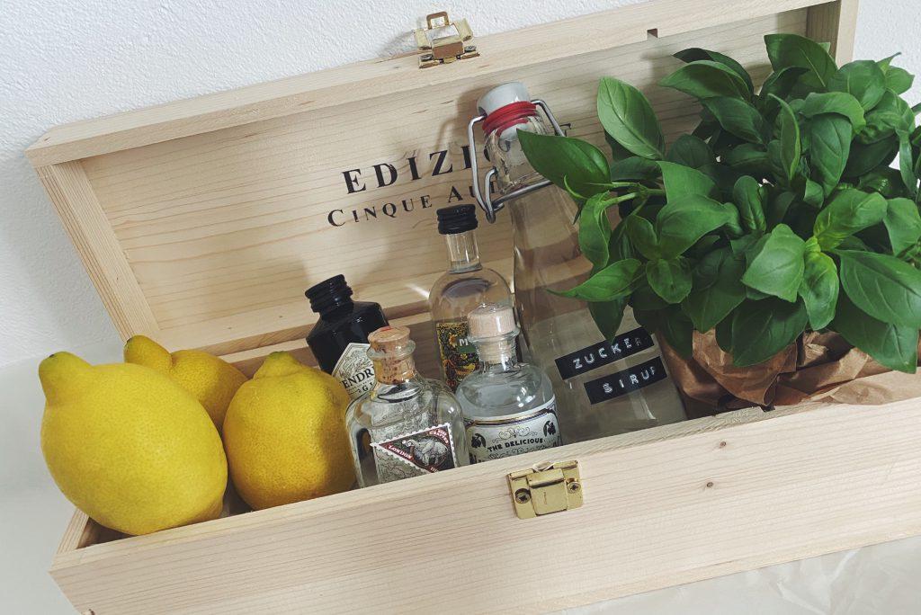 Gin Basil Smash Geschenk Idee - boumbelle