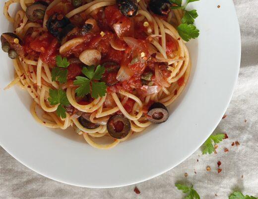 Spaghetti alla Patricia: würzig, einfach und so gut!